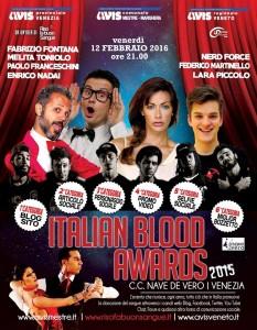 locandina italian blood awards